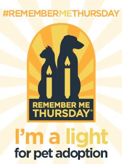 Remember me Thursday badge