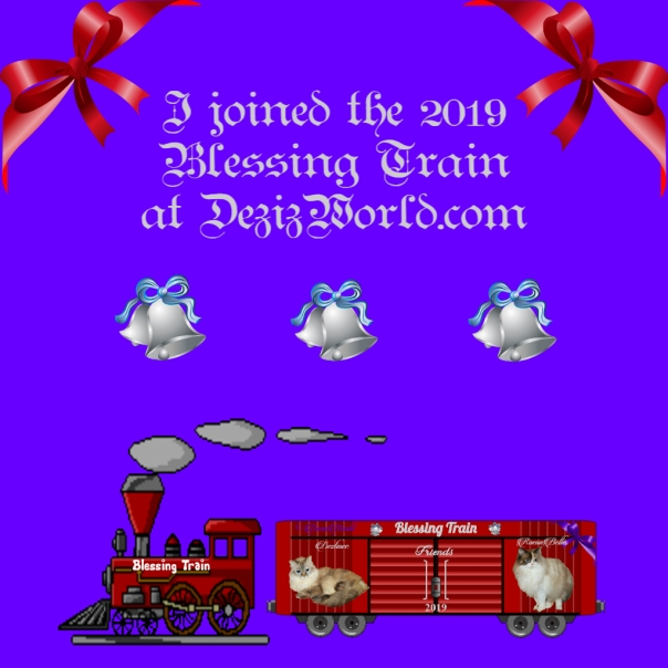 Blessing Train 2019 Badge