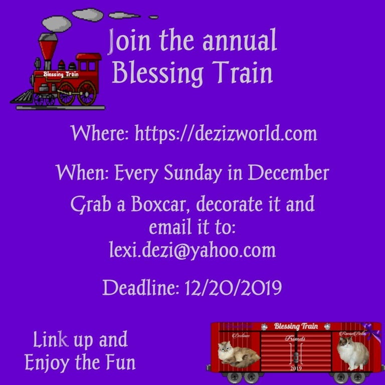 Blessing Train 2019 Announcement