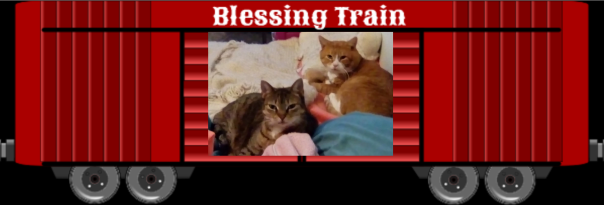 Annie and Charlie Blessing Train 2019