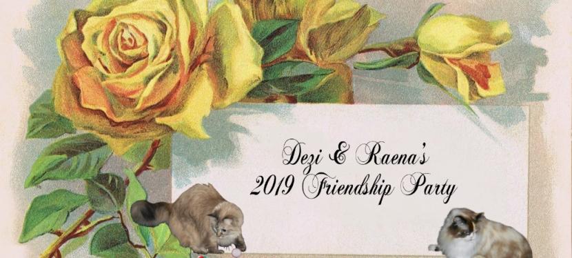 Feline Friday: FriendshipParty