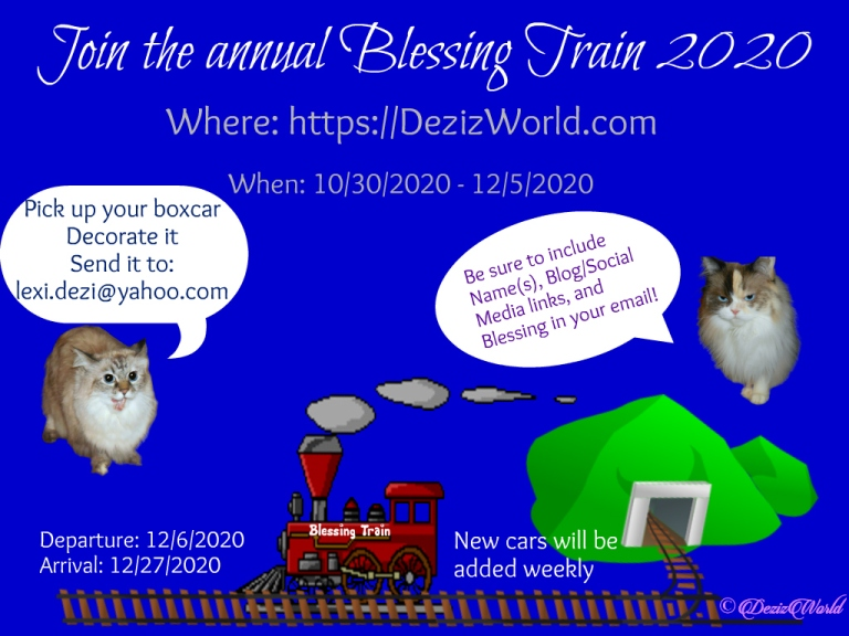 2020 blessing Train Announcement