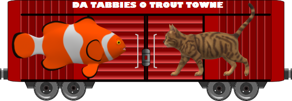 Trout Towen Tabbies 2020 boxcar
