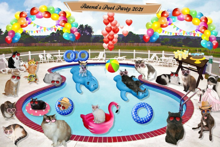 Raena's Pool Party 2021